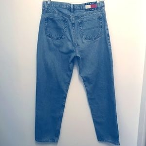 Vintage Tommy Hilfiger Flag Spellout Jeans Size 14